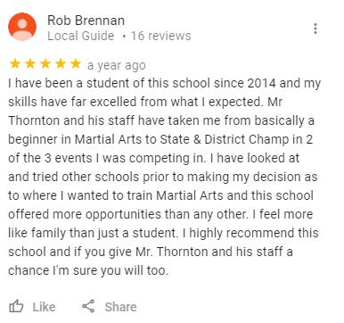 Teenadult4, Legendary Martial Arts